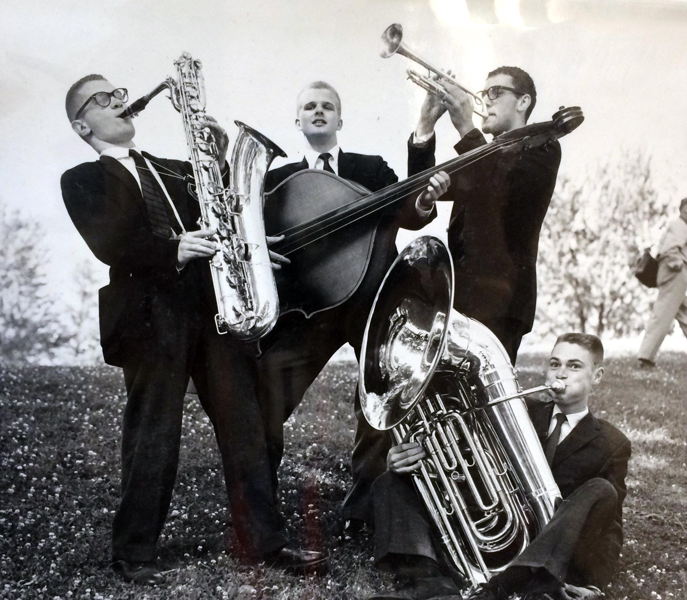 1942-1943 Cornell band
