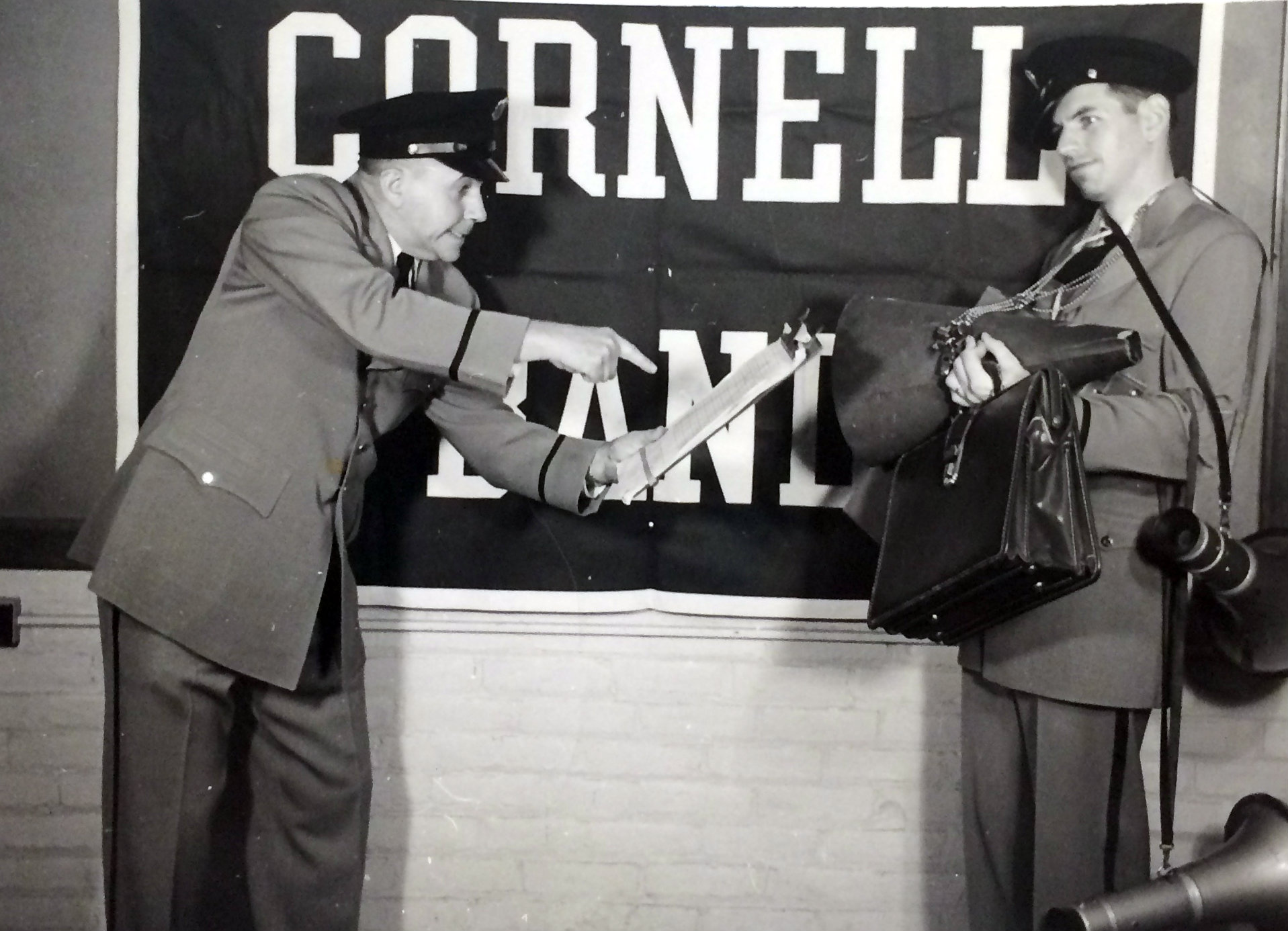 1958 Bill Campbell and Drillmaster Henry I Romersa